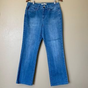{Jeanstar} Medium Wash Straight Leg Denim Jeans
